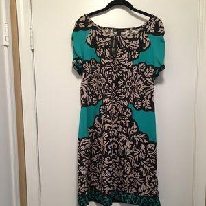 NWT: INC Patterned Dress